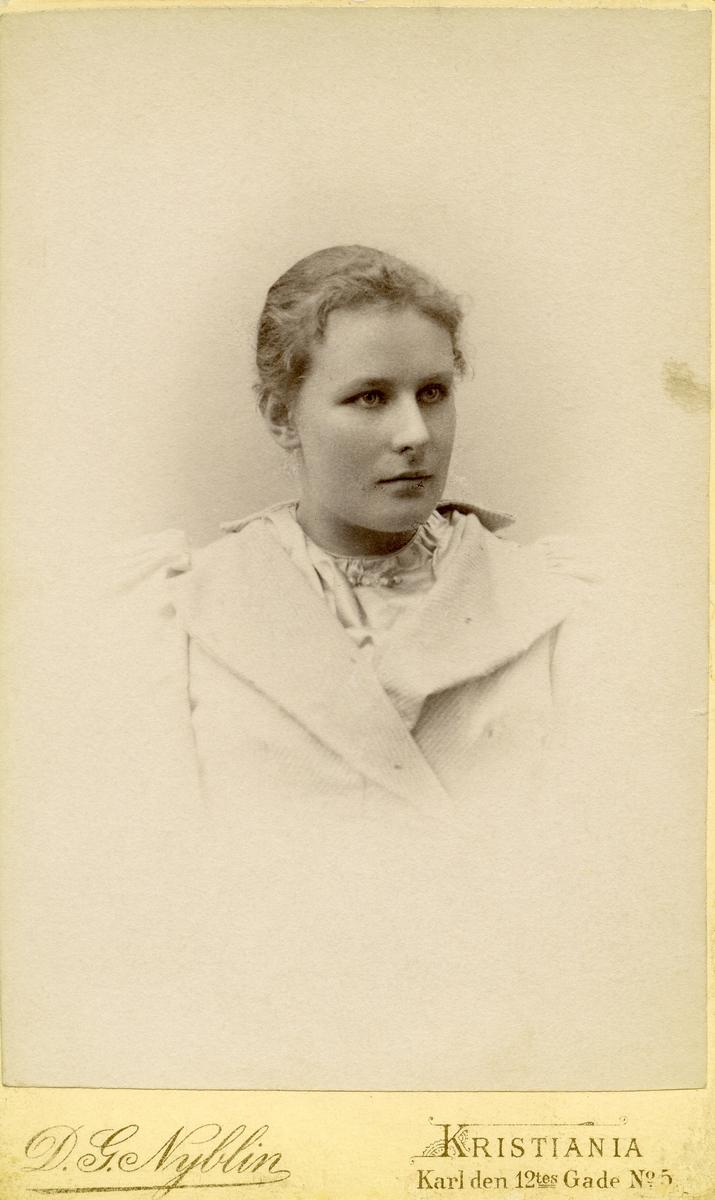 Portrett av Gyda Hagene.
