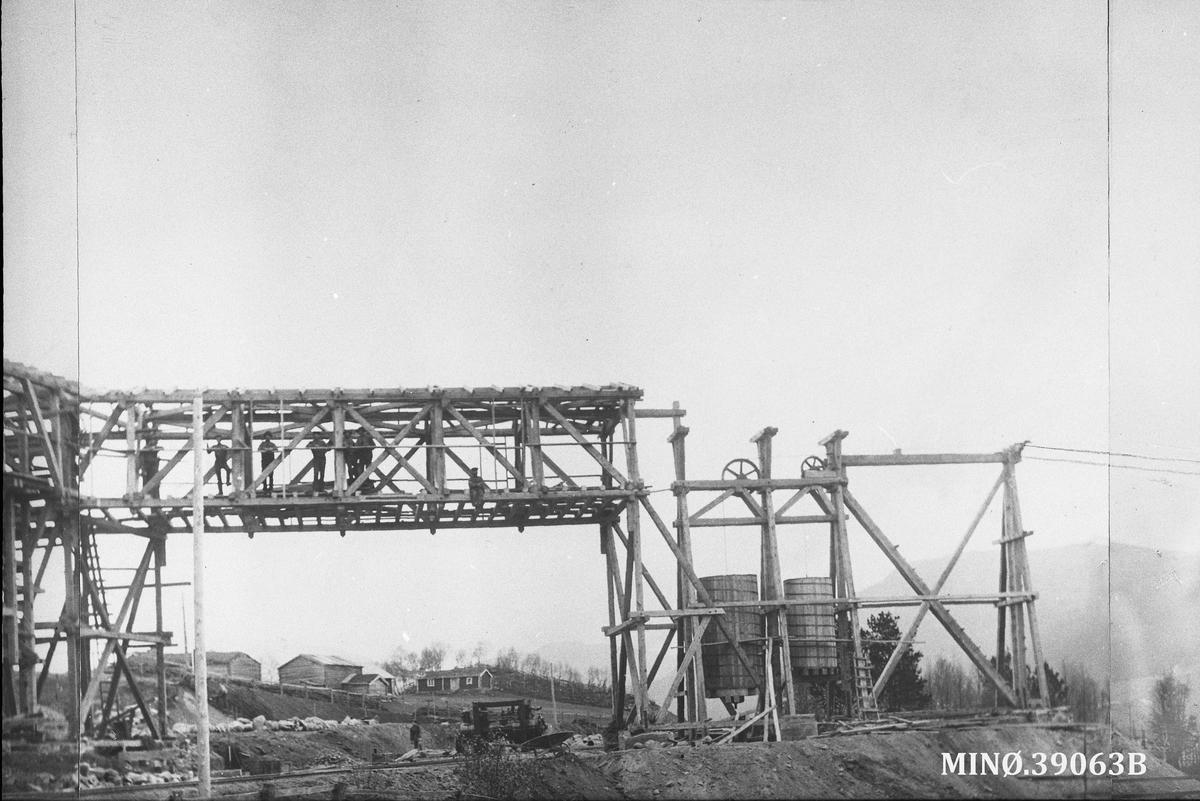 Bygging av taubane