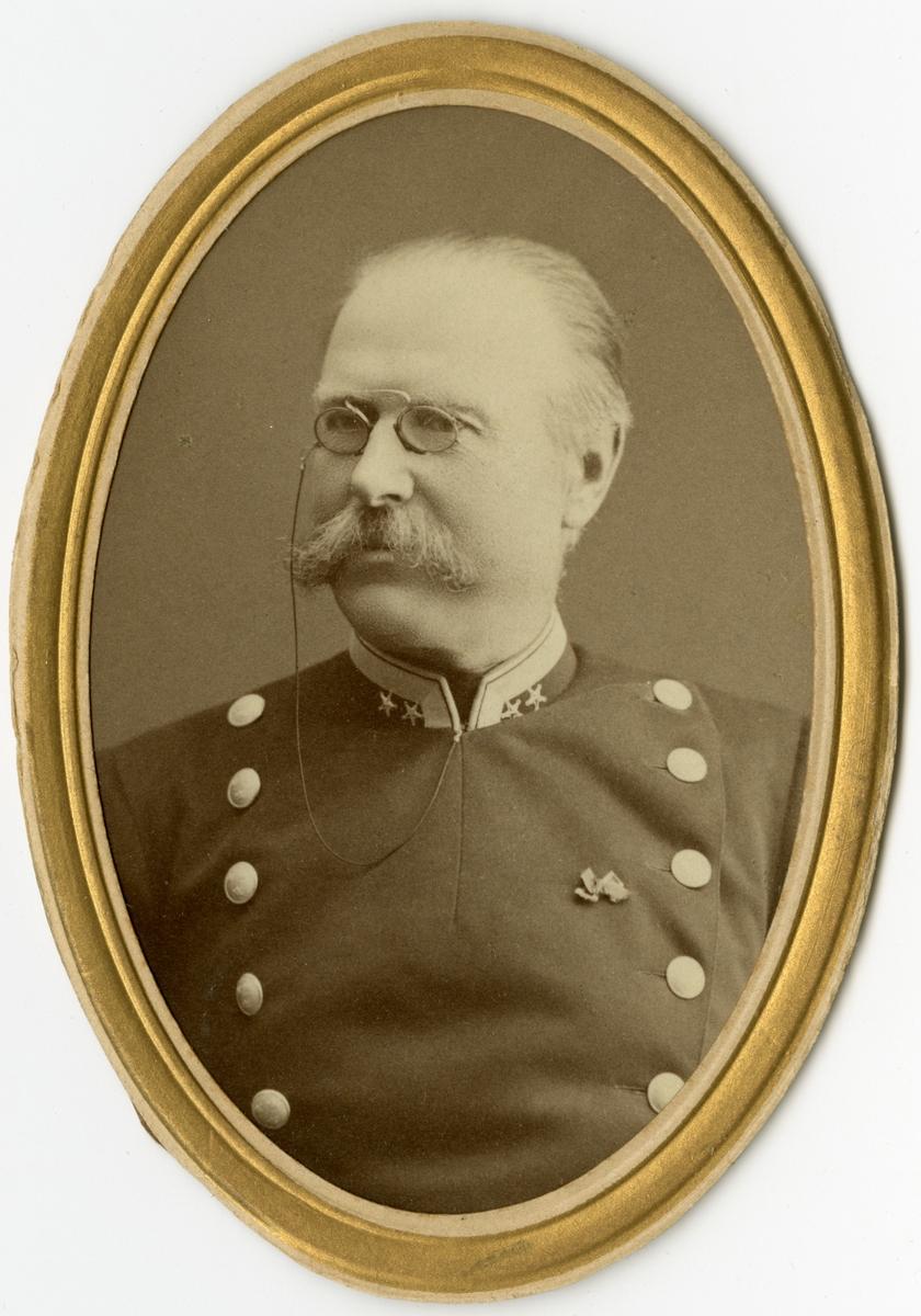 Porträtt av Johan Otto Henric Nordenskjöld, underlöjtnant vid Smålands grenadjärbataljon I 7.  Se även bild AMA.0002007, AMA.0008123 och AMA.0009638.