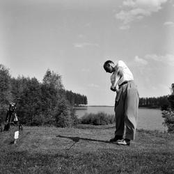 Svensk-Norsk golfmatch fot. på Sommersetra fot. for Adressa