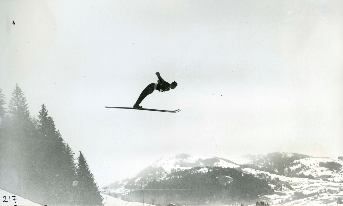 Norwegian skier at Innsbruck