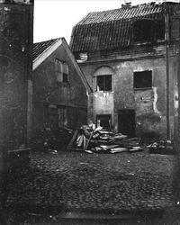 Bostadshus, kvarteret Kamphavets innergård, Uppsala före 190