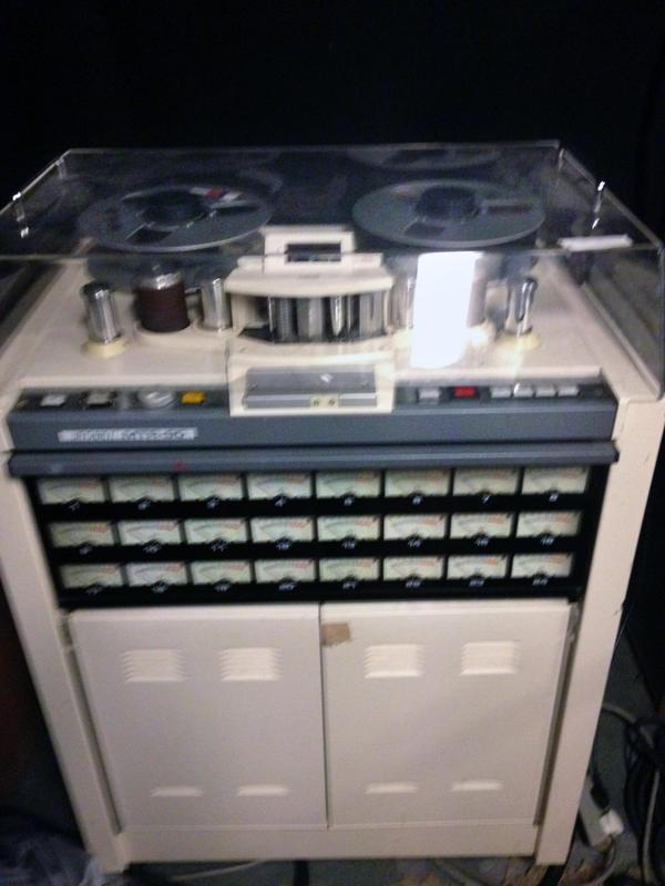 Endless Tinnitus Studio - båndmaskin