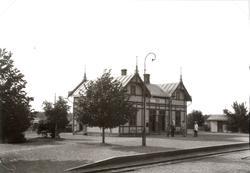 Järnvägsstationen i Ruda