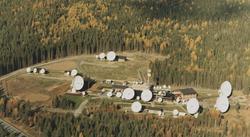 Nittedal jordstasjon (Nittedal teleport) ble tatt i bruk høs
