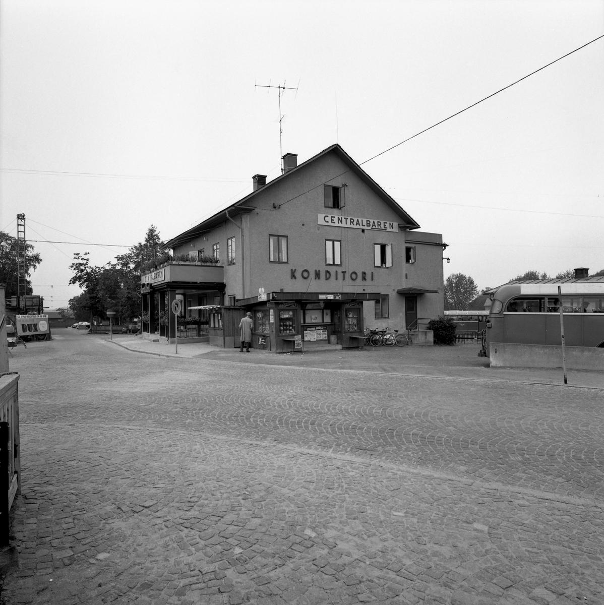 Centralkonditoriet i Arvika 60-09-09. Bilden togs för bussbolaget GDG:s räkning.
