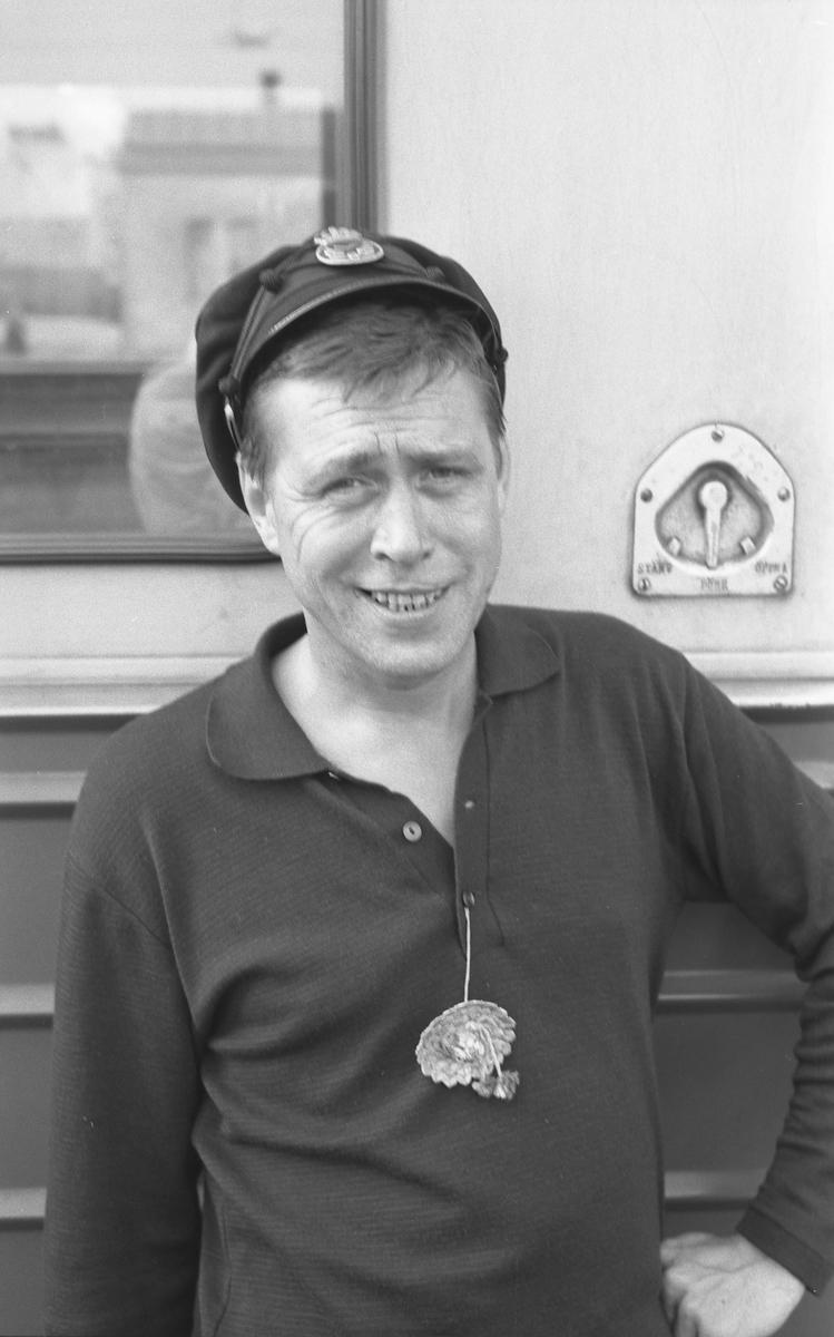 På fotografisk vandring med Bertil Ludvigsson i 1960-talet.