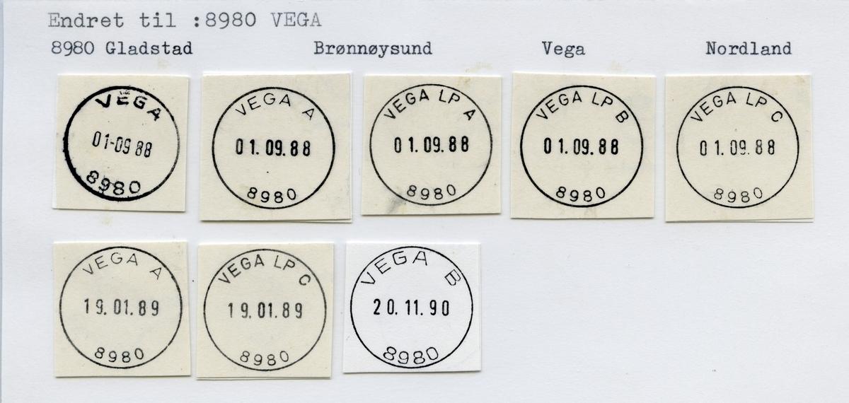 8980 Vega (Gladstad), Brønnøysund, Vega, Nordland