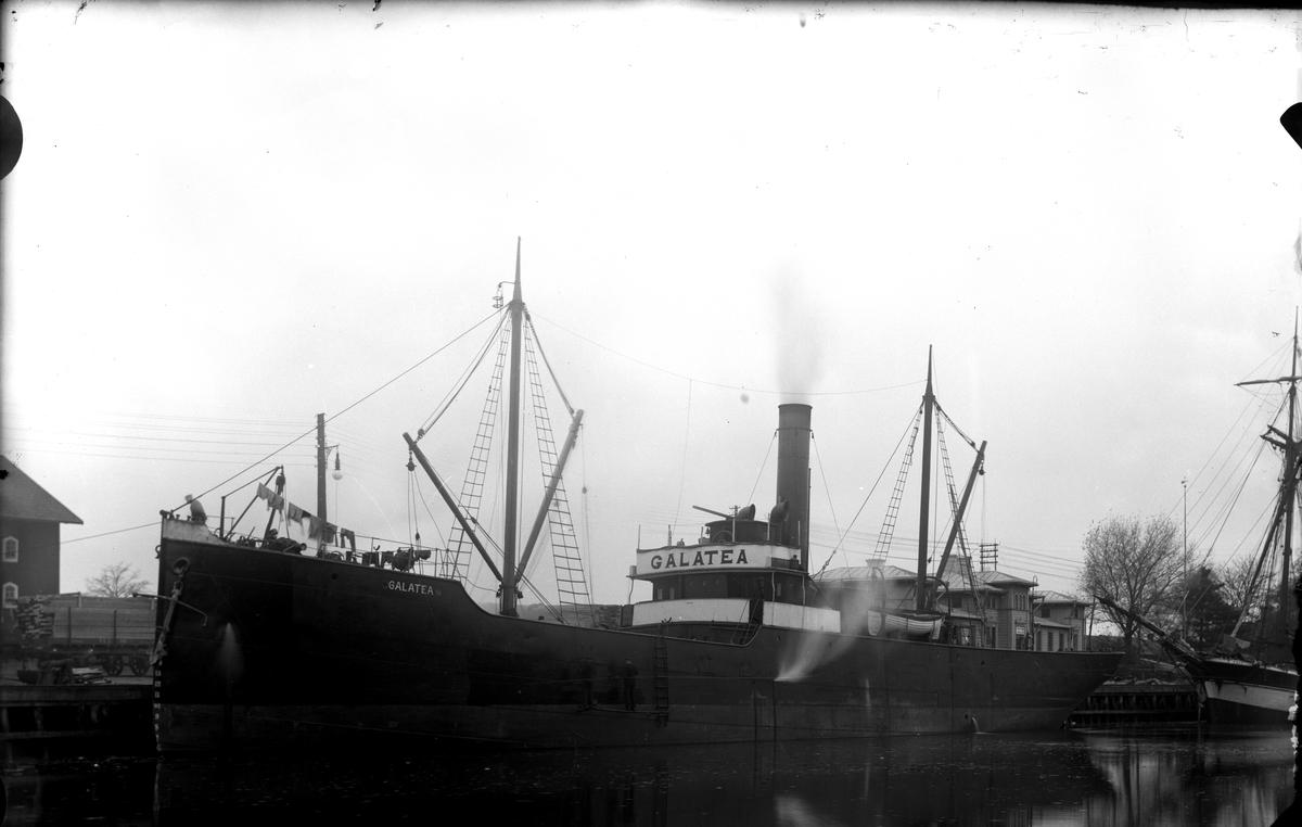Båt, Galatea 1908 Fotofraf: E. Sörman