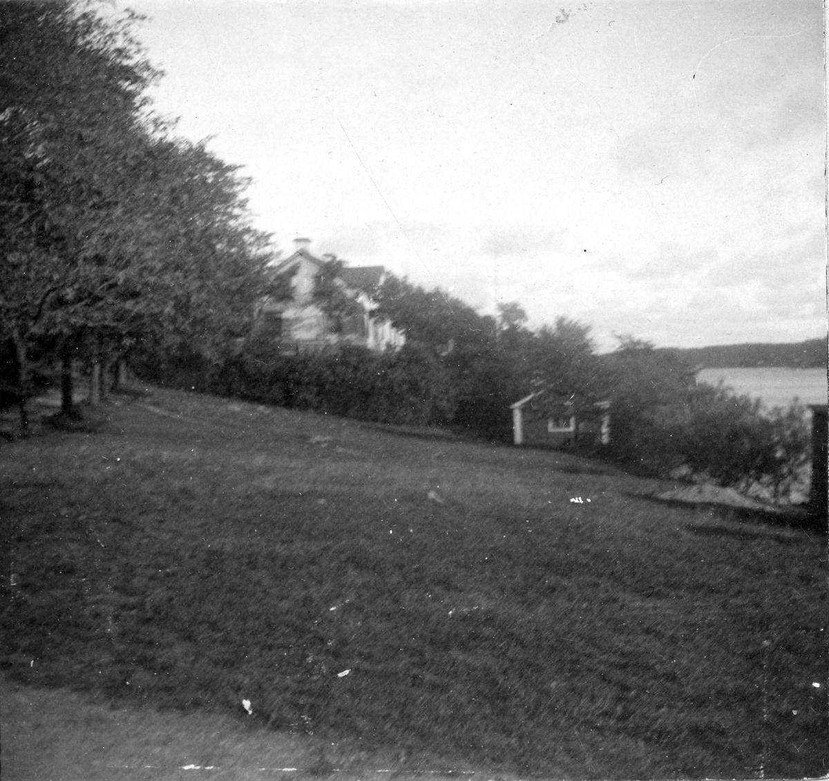 Ett bostadshus. Fotograf Alfred Bergendahl. Givare H Bergendahl.