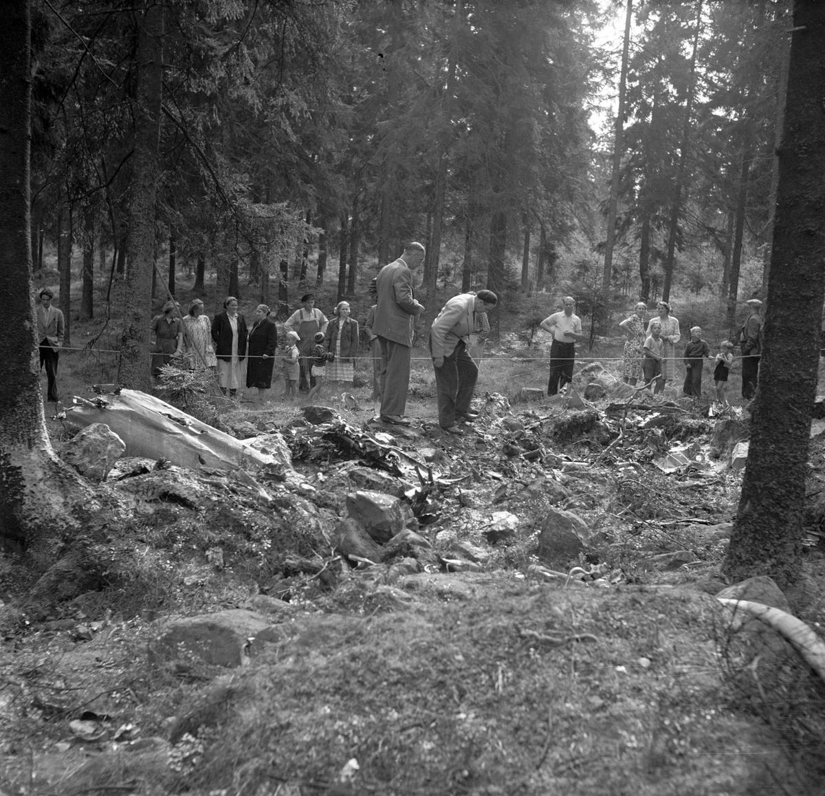 Flygolycka vid Karskär. Den 29 augusti 1950