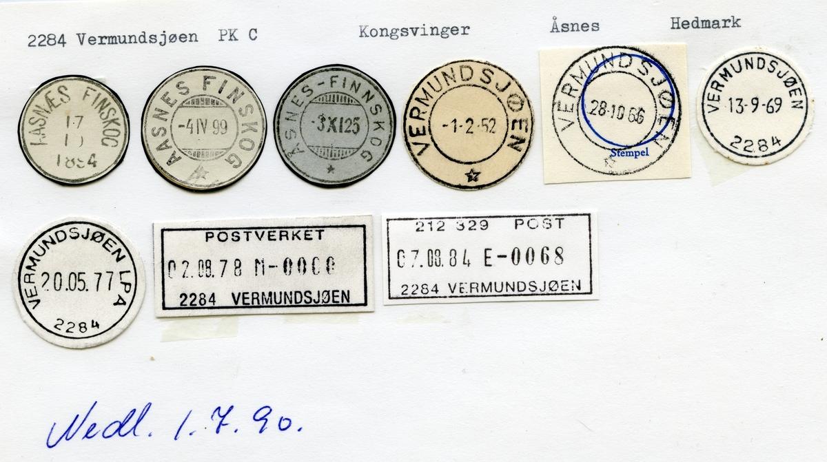 6155 Vermundsjøen (Aasnes Finskog, Åsnes-Finnskog), Kongsvinger, Åsnes, Hedmark
