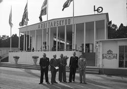 Gävleutställningen 1946. Arbetarskydd