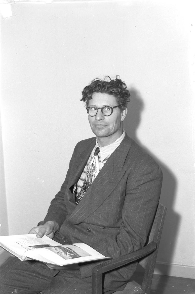 Svensk-amerikanare. 20 december 1948. Reportage för Arbetarbladet.
