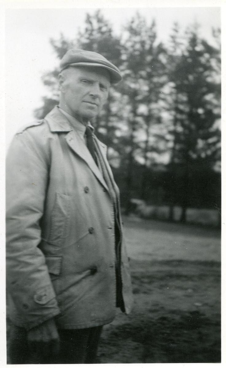 Statsagronom Andris Lalim våren 1953.