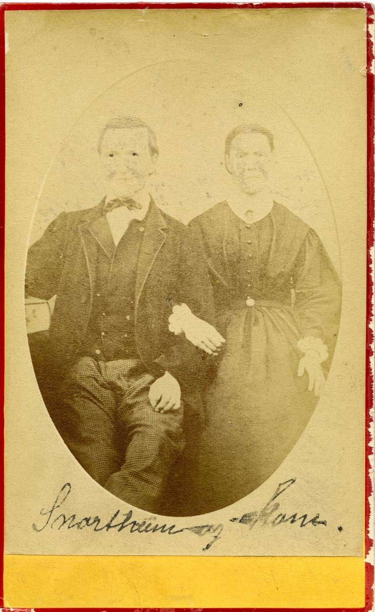 Snortheim og kona.