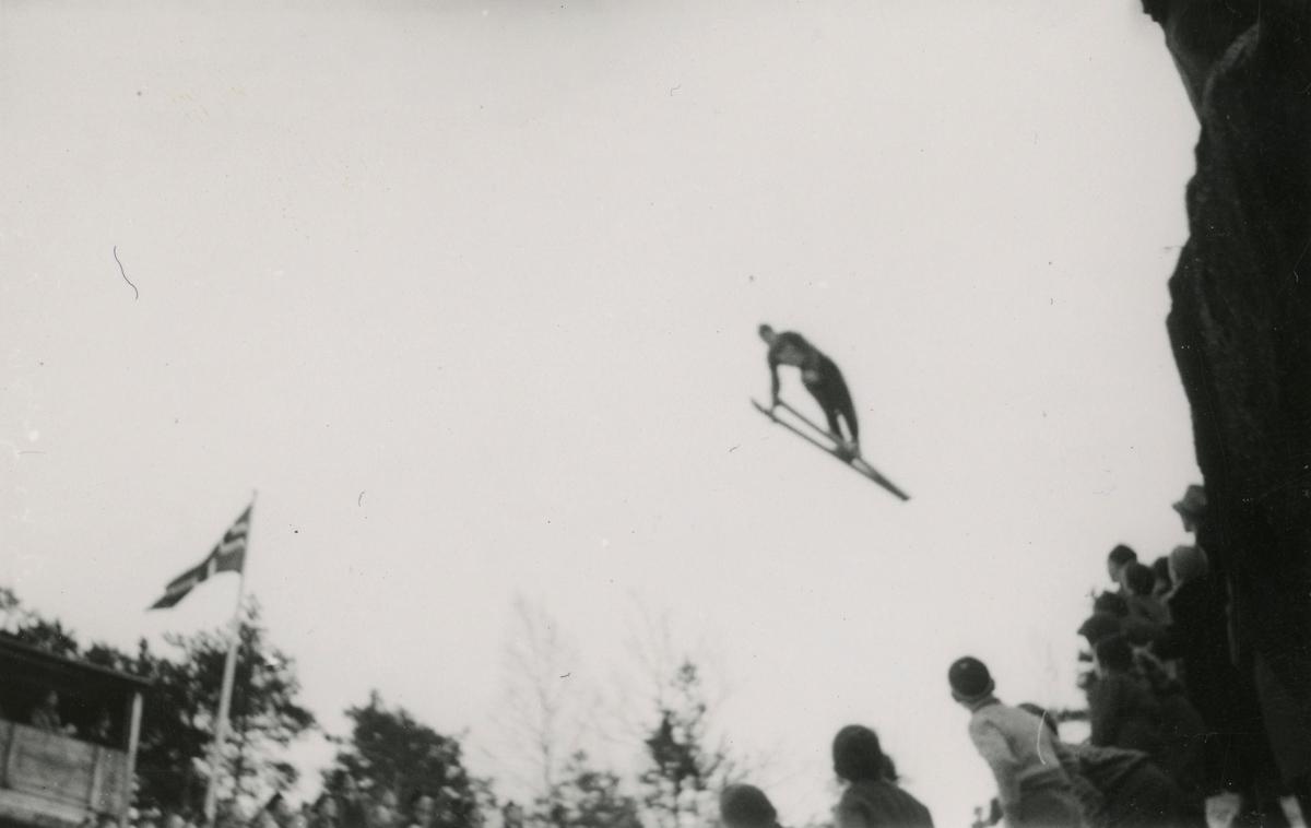 Kongsberg skier Odd Fjerdingstad