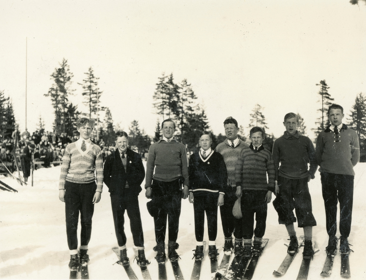 Young Kongsberg skiers