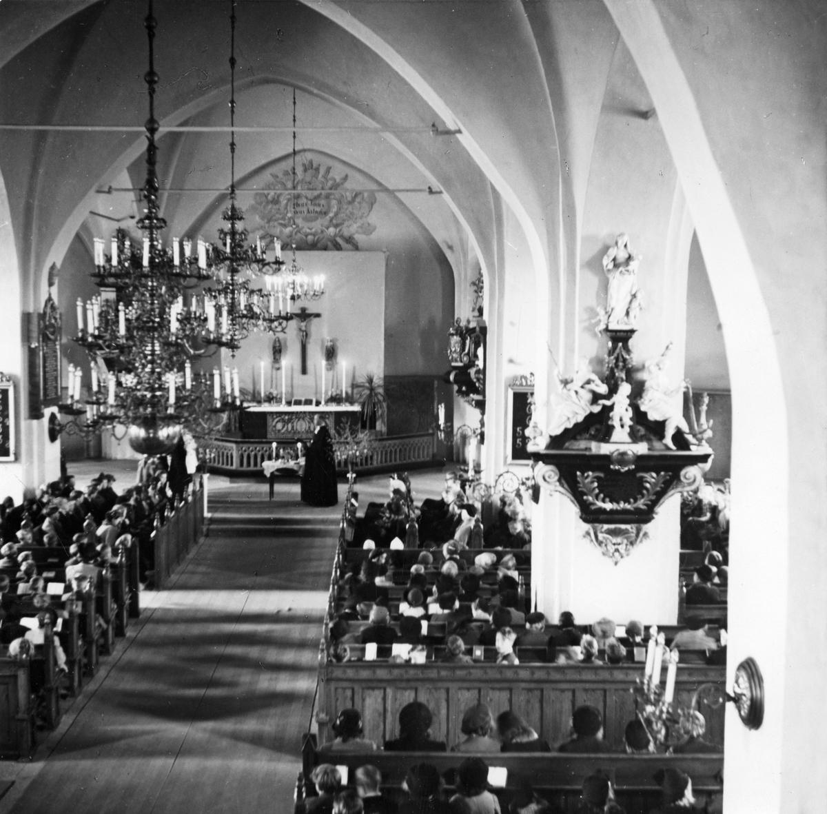Gudstjänst i Köpings Kyrka