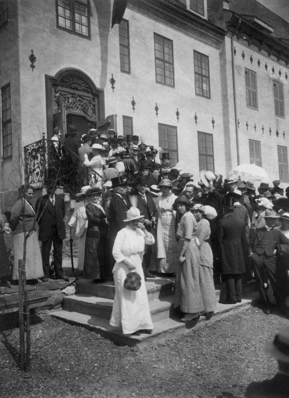 Bysamlingen på Norsk Folkemuseum 1914