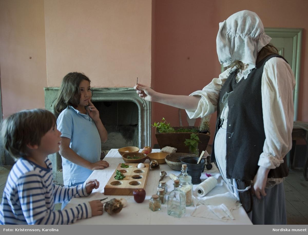 Svindersviksdagen 2011, Barnaktiviteter,  Rikard, Eppsy och Klas träffar Kloka gumman