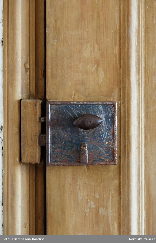 Svindersvik, Stora huset, interiör plan 2, detaljer, biljard