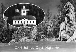 """""""God Jul och Gott Nytt År"""", Rengsjö, Hälsingland"""