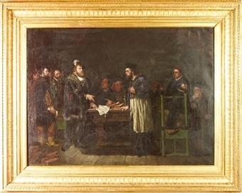 Gustav Vasa och Biskop Brask