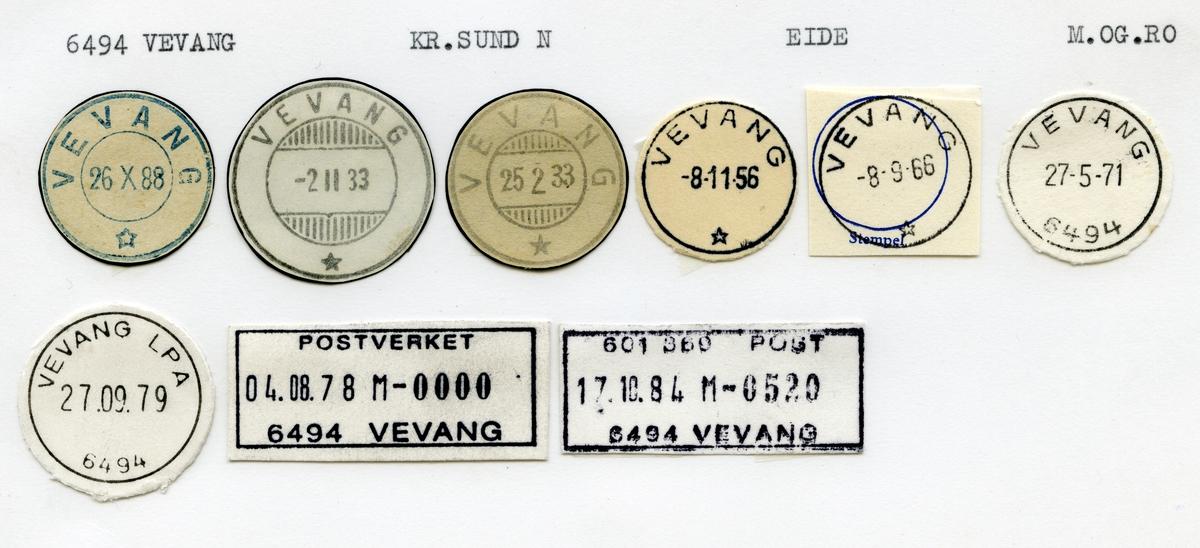 6494 Vevang, Kristiansund, Eide, Møre og Romsdal