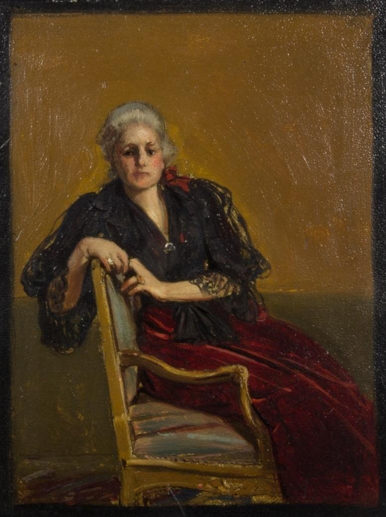 Wilhelmina von Hallwyl var en svensk grevinna, konstsamlare och museiskapare.
