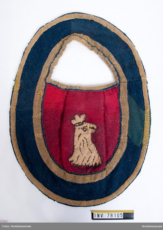 Grupp K1. Regemente K Södra skånska kav. reg. 1700-tal.