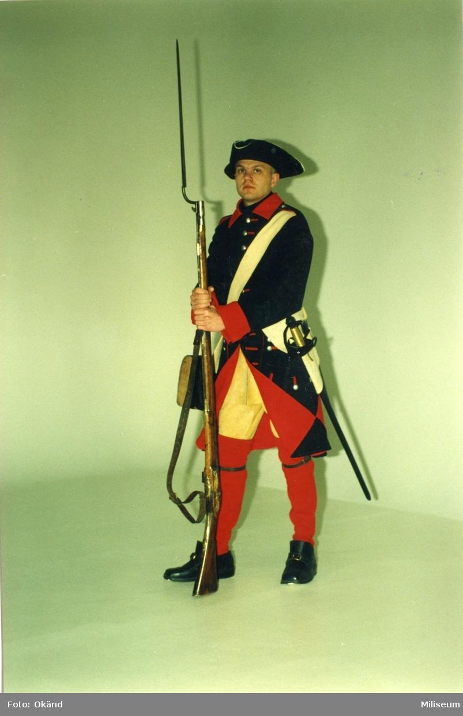 Pettersson, Stefan. Uniform m/1706, Jkpgs regemente.