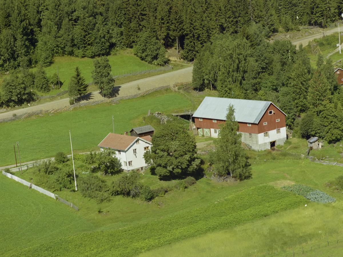 Fåberg, med gården Aaen eller Åa, kulturlandskap.