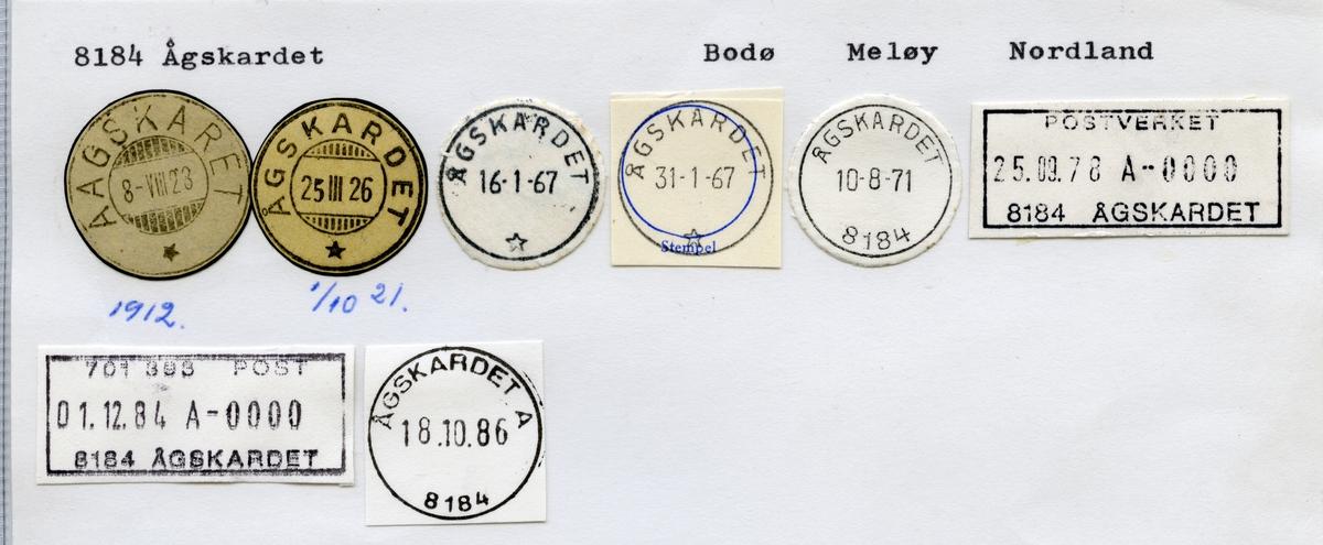 8184 Ågskardet (Aagskaret), Bodø, Meløy, Nordland