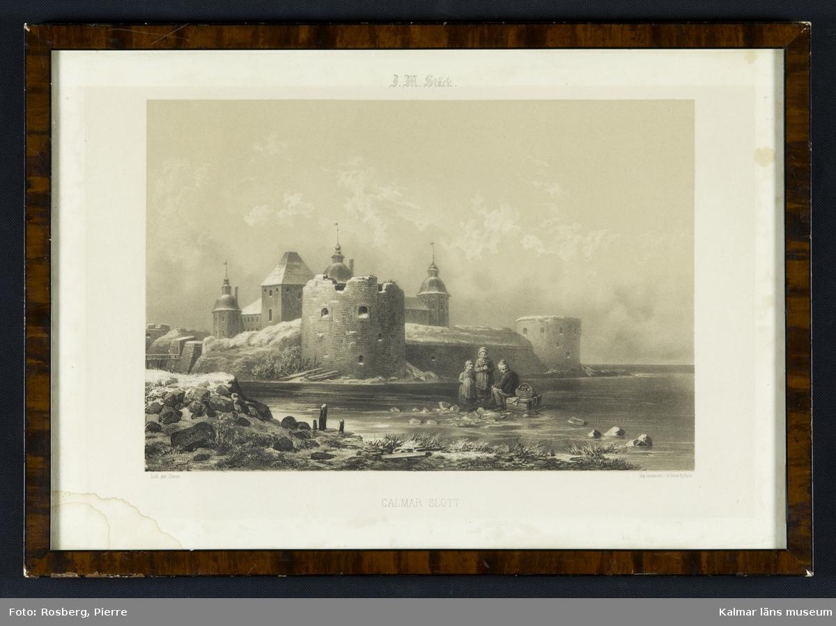 Motiv med Kalmar slott.