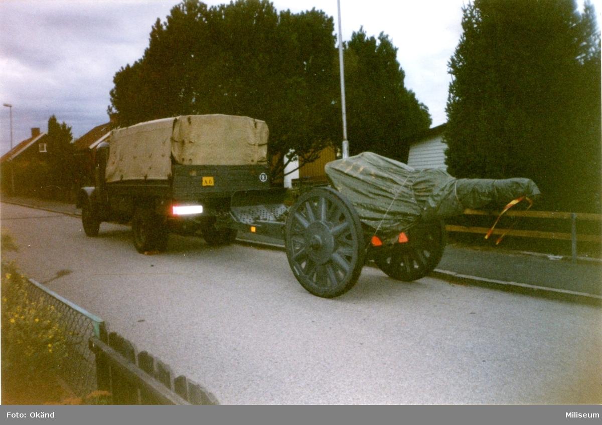 Terrängbil m/1942 M, Klöckner. Hasselvägen.