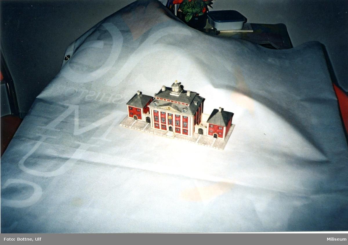 Byggark, G:a Rådhuset. Separatutställn. på Försvarsmuséet.