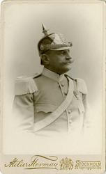 Porträtt av Fredrik Gustavf Cassel, ryttmästare vid Livregem
