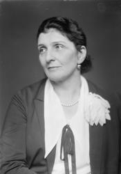 Agnes Mowinckel.