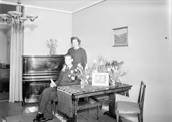 Carlsson i hemmet, Uppsala 1942