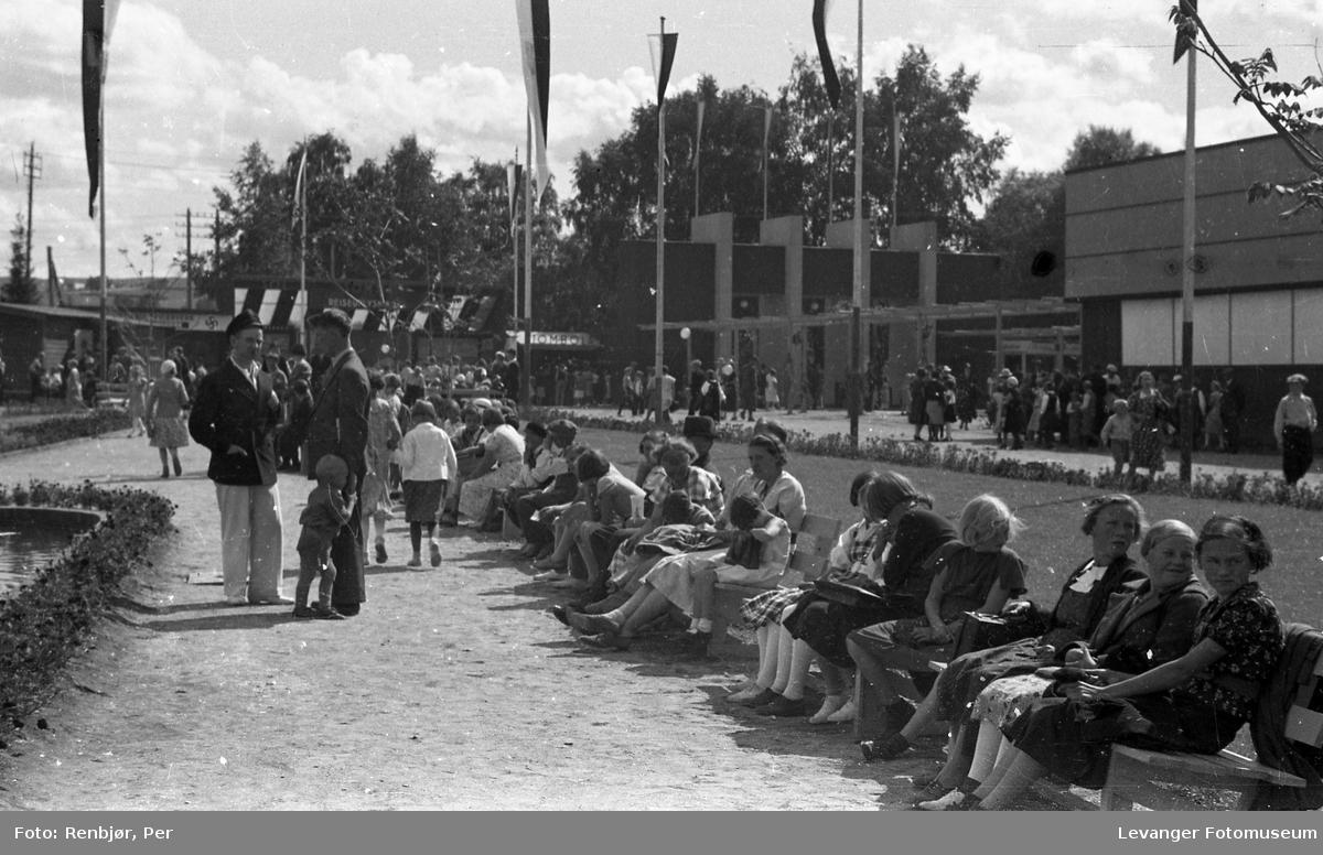 Fra byjubileet i 1936 sommerutstilling
