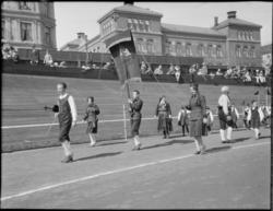 Barnelag fra Oslo, 1. Mai 1932 på Dælenenga idrettsplass. Gr
