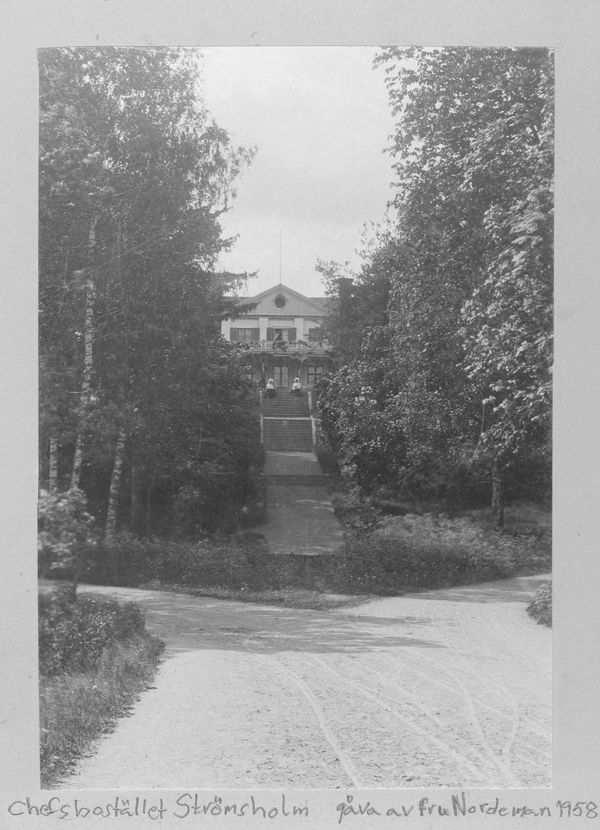 Chefsbostället på Strömsholms slott, Arméns ridskola.