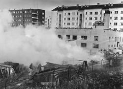 Brann i Østerdalsgata.