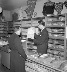 Konsum Alfa Varuhuset. December 1944. Jubileumsjul