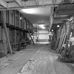 Dokumentation av  Tyresö slott under restaurering av flygeln