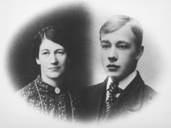 Olga Kristiansen f. Karlsen, Johan Kristiansen, søndre Galgu