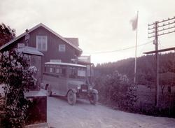 Buss på linjen Uddevalla - Ljungskile - Lilla Edet 1928