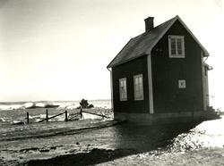Högvatten vid Lotshuset.