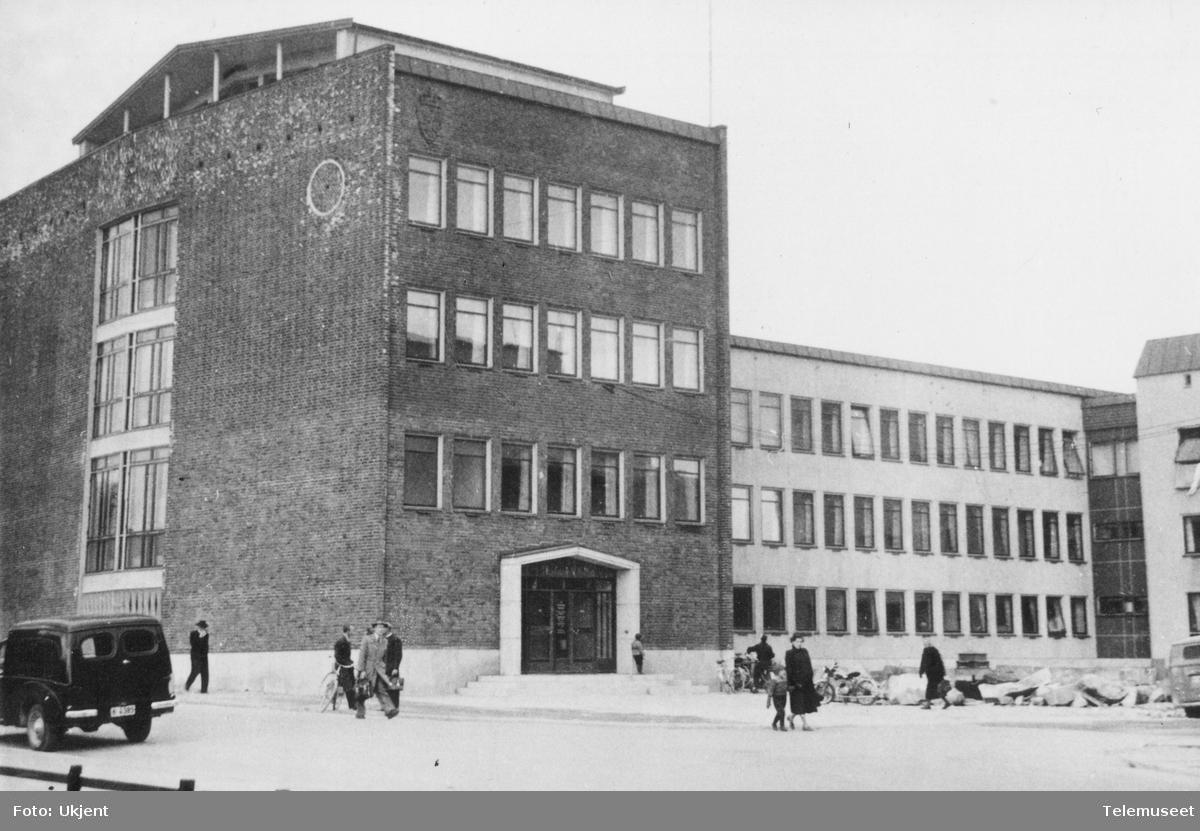 Det nye telegrafbygget i Tromsø
